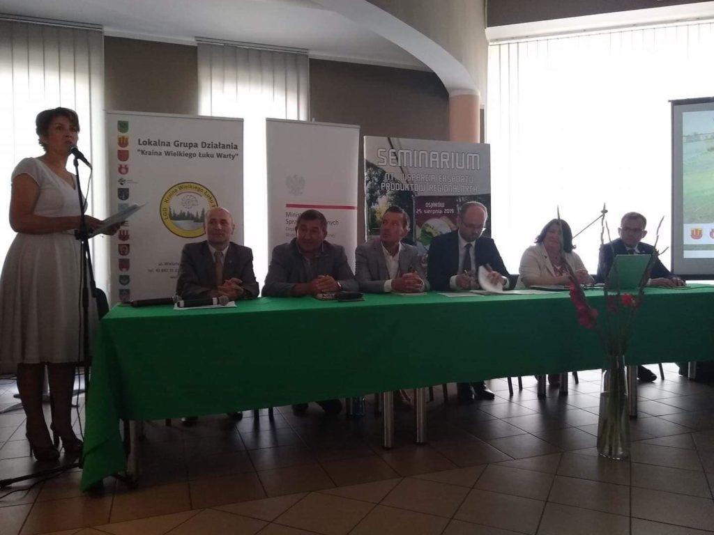 Udział Liedmann Agro w Seminarium nt. wsparcia eksportu produktów regionalnych